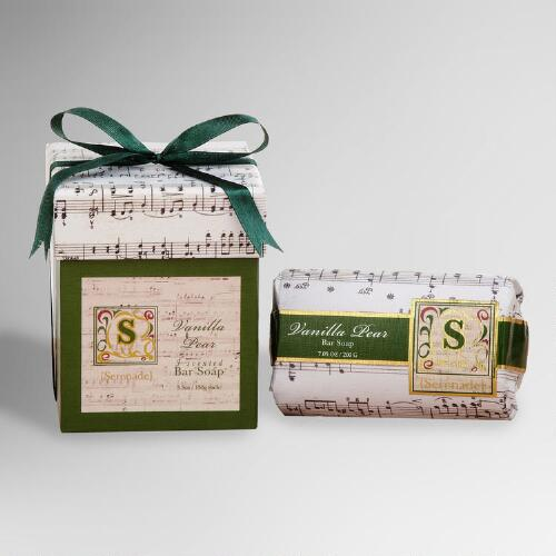 Serenade Vanilla Pear Bar Soaps