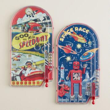 Schylling Retro Pinball Games, Set of 2