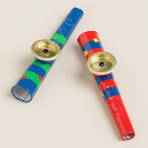 Schylling Metal Kazoo, Set of 2