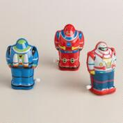 Schylling Wind-Up Tin Robot Set