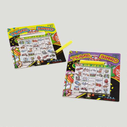 Magnetic Bingo Travel Set