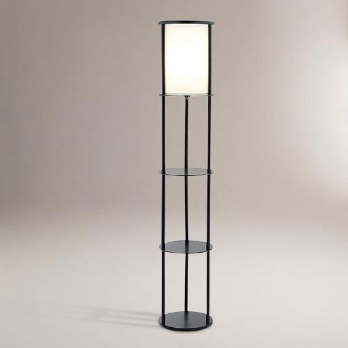 Oval Shelf Floor Lamp