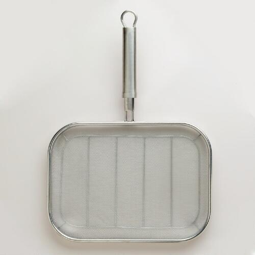 Stainless Steel Fine Mesh Pan