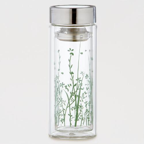 Green Grass Glass Tea Carafe