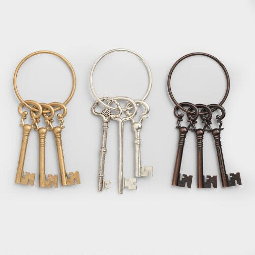 Decorative Keys, Set of 3