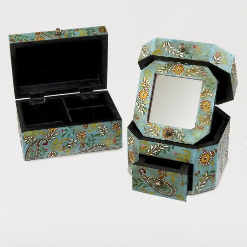 Paisley Nisha Jewelry Boxes