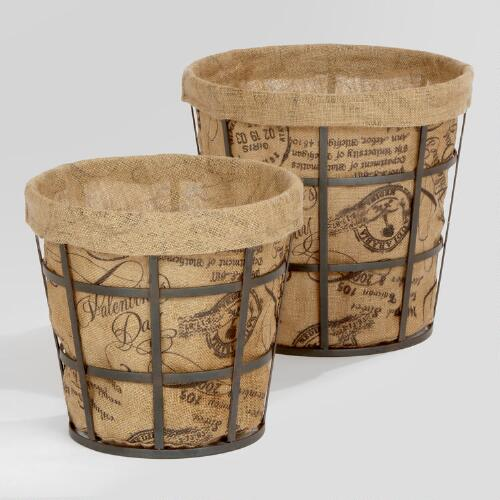 Jayden Metal Baskets