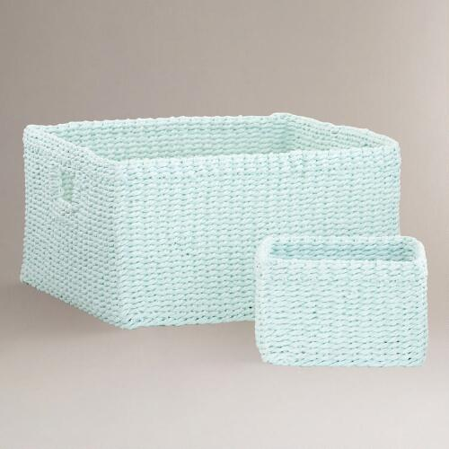 Canal Blue Madison Baskets