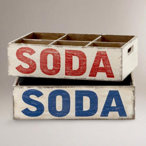 Soda Crate, Set of 2