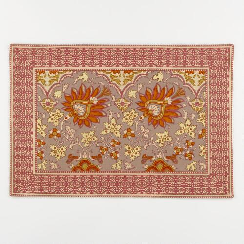Gilded Garden Placemats, Set of 4