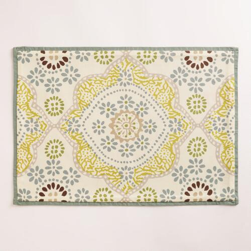 Mosaic Tile Placemats, Set of 4