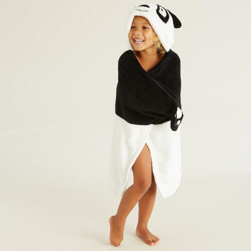 Panda Hooded Wrap
