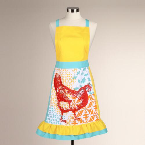 Funky Chicken Apron