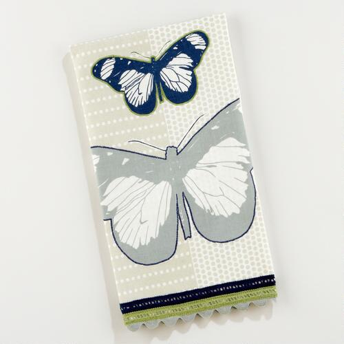 Graphic Dot Butterfly Tea Towel