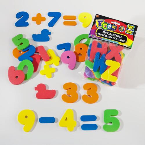 Ja-Ru Foam Letters and Numbers