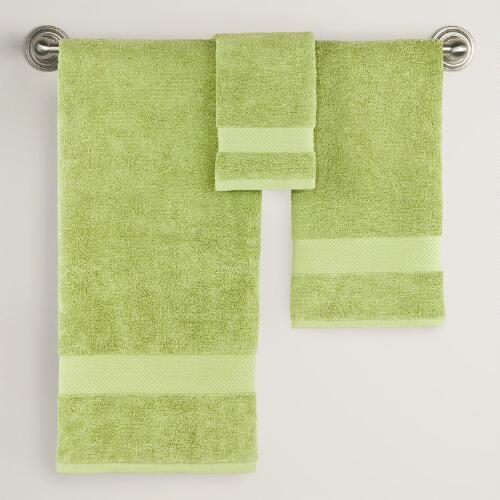 Fern Bath Towel Collection
