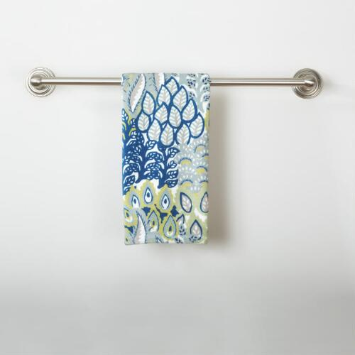 Feather Bouquet Printed Hand Towel