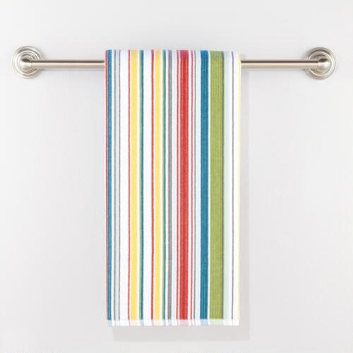 Bali Stripe Velour Bath Towel