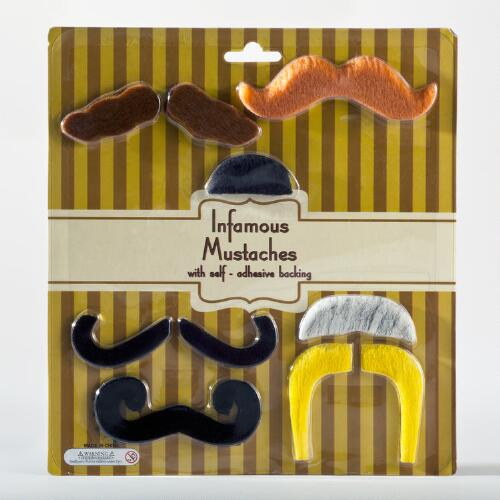Infamous Mustaches, 7-Pack