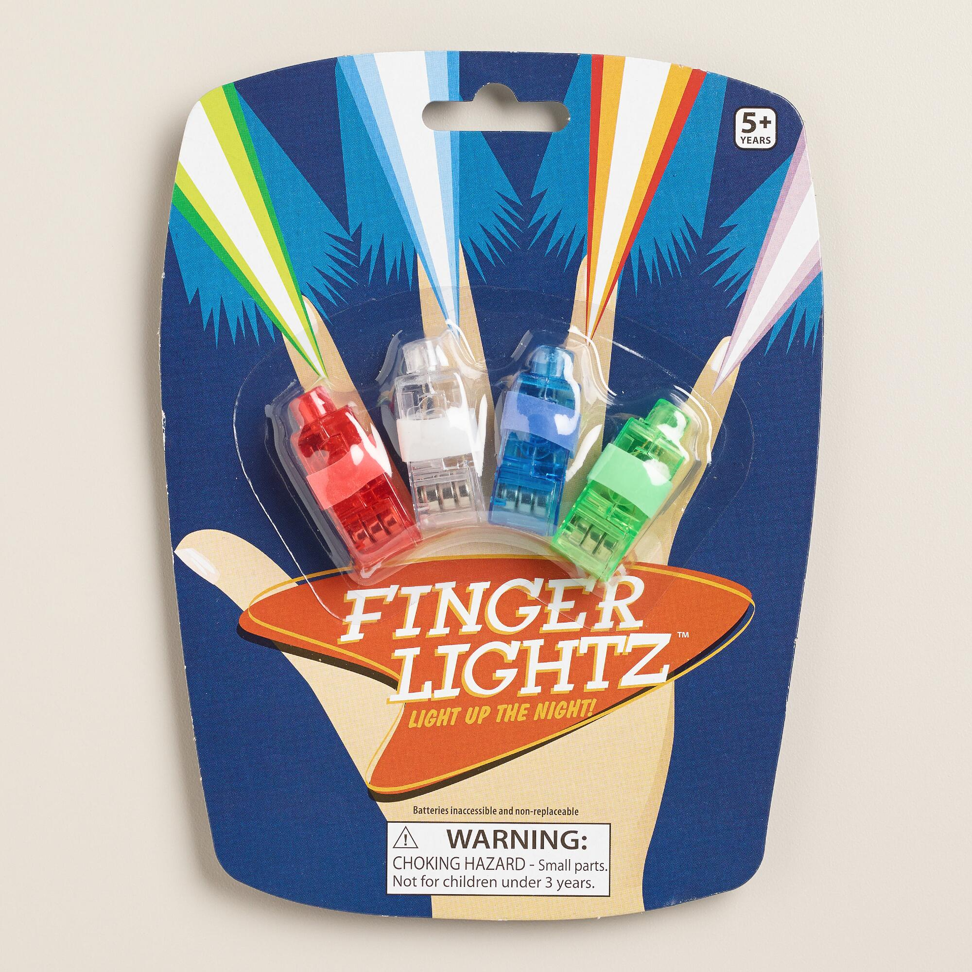 Toysmith Lazer Fingers, Set of 2