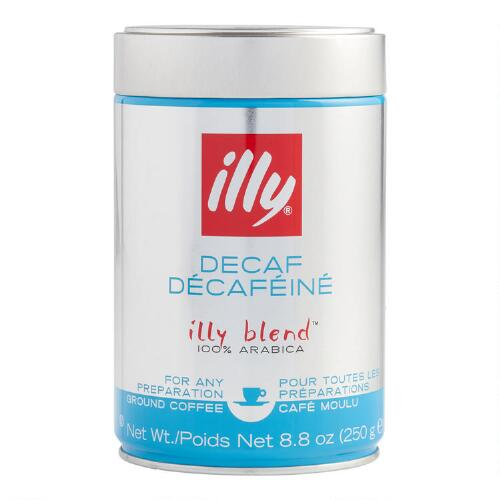 Illy Decaf Medium Roast Ground Coffee