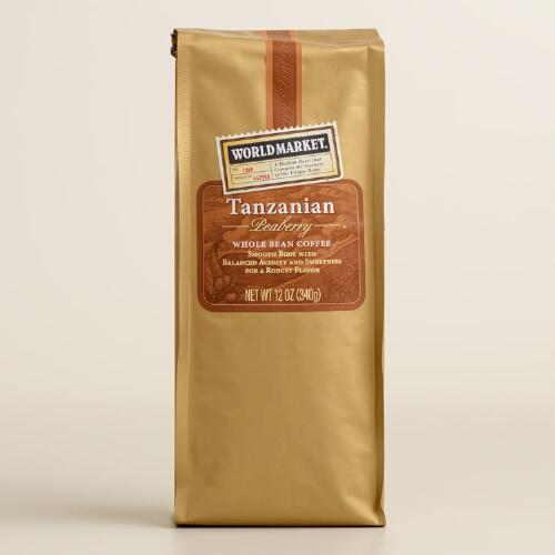World Market® Tanzanian Peaberry Whole Bean Coffee