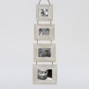 White Garrison Frames, Set of 4