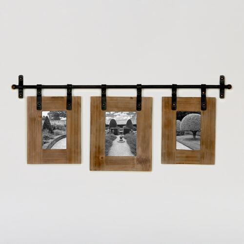 Jacob 3-Photo Wall Frame