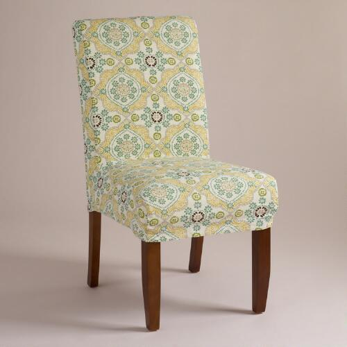 Mosaic Short Anna Chair Slipcover