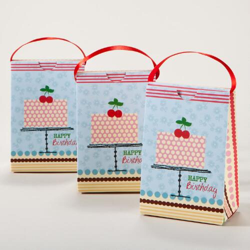 Birthday Cake Petite Purses, Set of 3