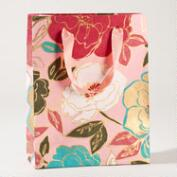 Pink Painterly Floral Large Gift Bag