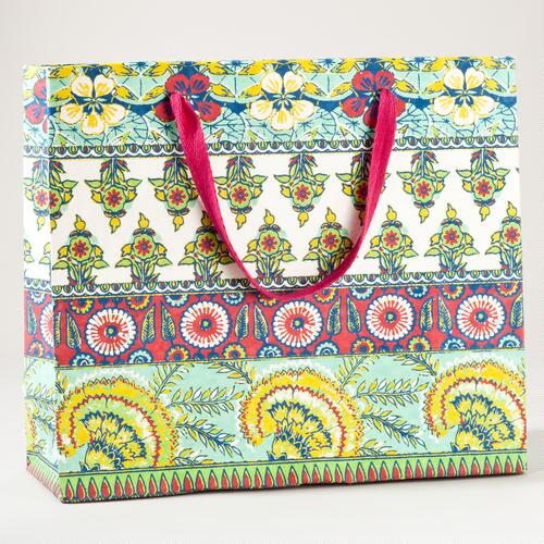 Rio Carnaval Stripe Extra Large Gift Bag