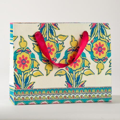Rio Carnaval Large Horizontal Gift Bag
