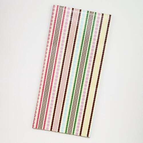 Birthday Stripes Tissue Paper