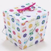 Mini Owl Take Out Boxes, Set of 4