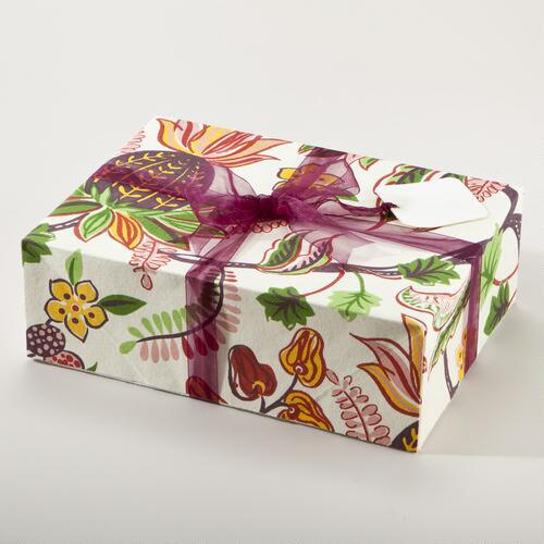 Indonesian Fruit Fabric Gift Box Set