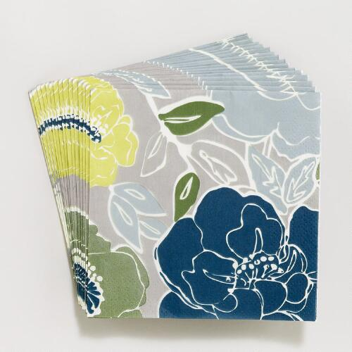 Early Bloomers Beverage Napkins