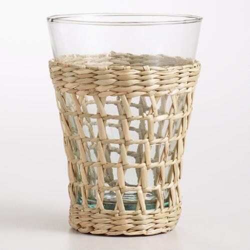 Seagrass-Wrapped Tumbler