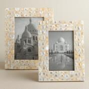 Mother of Pearl Tabletop Frames