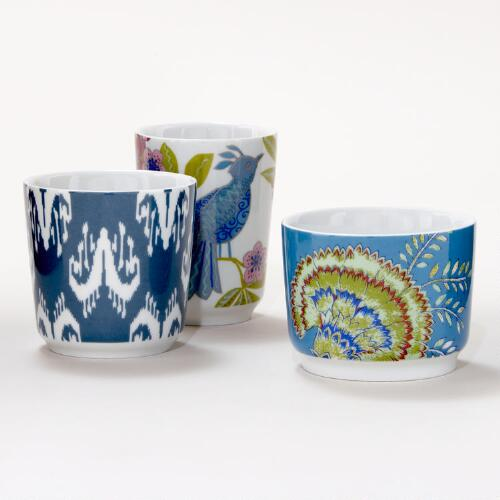 Carnival Cups, Set of 3