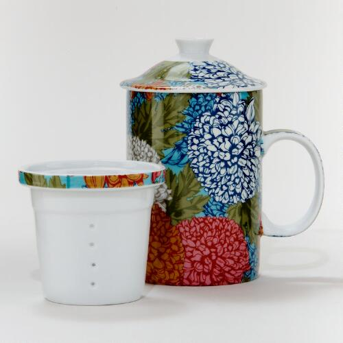 Chrysanthemum Infuser Mug