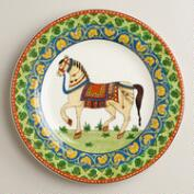 Voyage Horse Plates, Set of 2