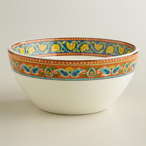 Voyage Peacock Bowls, Set of 2