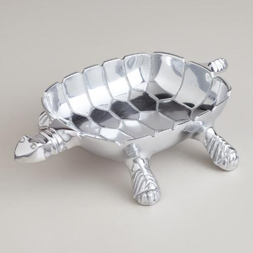 Metal Tortoise Bowl