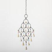 Beaded Iron Wind Chime