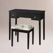 Black Margaret Vanity Set