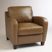 Latte Leather Mason Chair