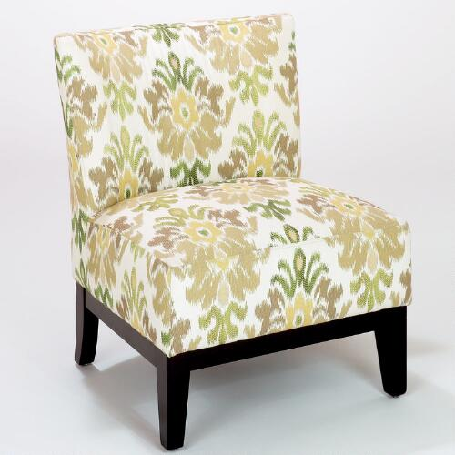 Green Ikat Darby Chair