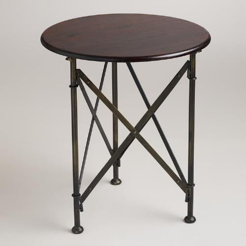 Walker Campaign Accent Table