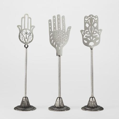 Iron Hand Cutouts, Set of 3